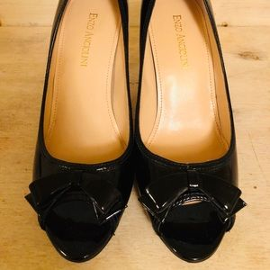 Enzo Angiolini Black Patent Shoes